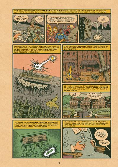 Page 9 X-men - grand design tome 1