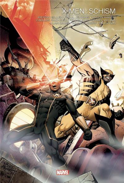 Couverture X-men - Schism