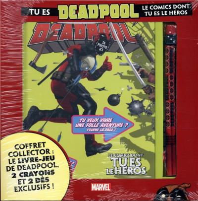 Couverture Tu es Deadpool - Le comics dont tu es le héros