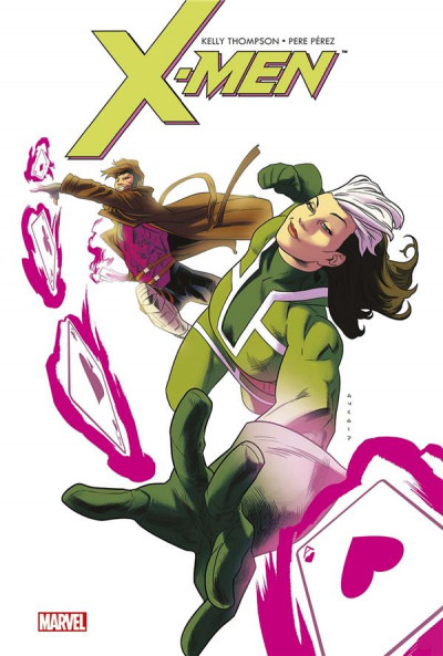 Couverture X-men - Malicia & Gambit