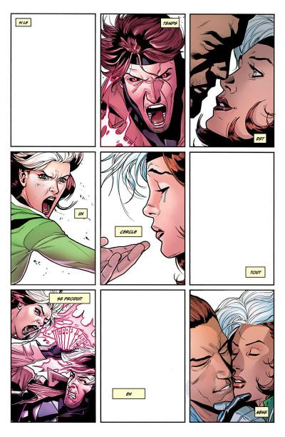Page 5 X-men - Malicia & Gambit