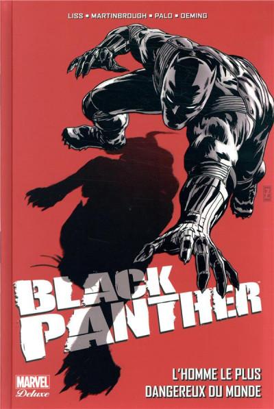 Couverture Black panther - L'homme le plus dangereux du monde