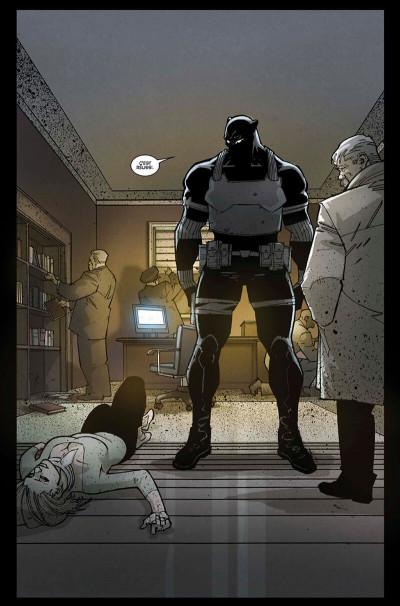 Page 8 Black panther - L'homme le plus dangereux du monde