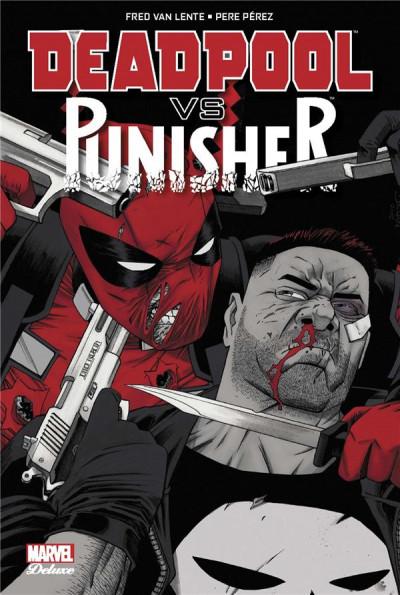 Couverture Deadpool VS Punisher