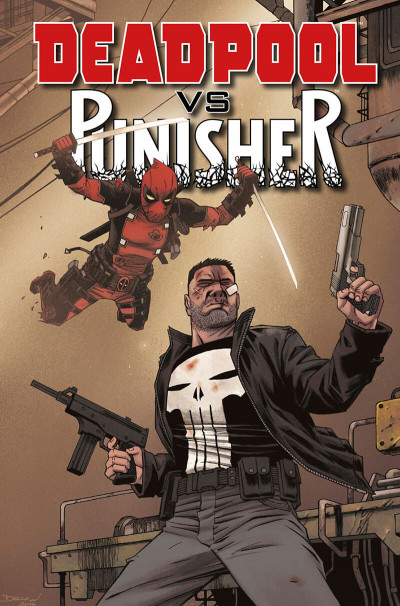 Page 1 Deadpool VS Punisher