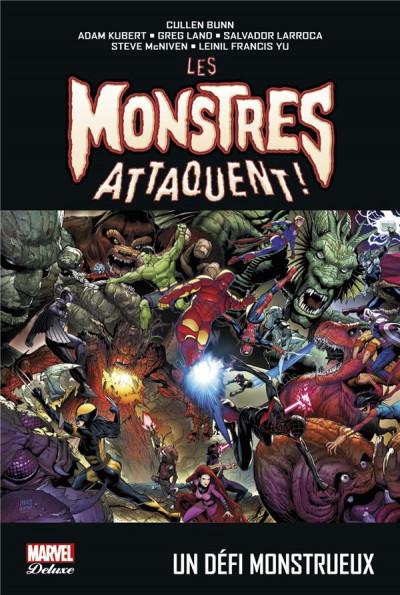 Couverture Les monstres attaquent - Un défi monstrueux