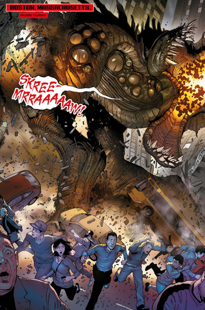 Page 8 Les monstres attaquent - Un défi monstrueux