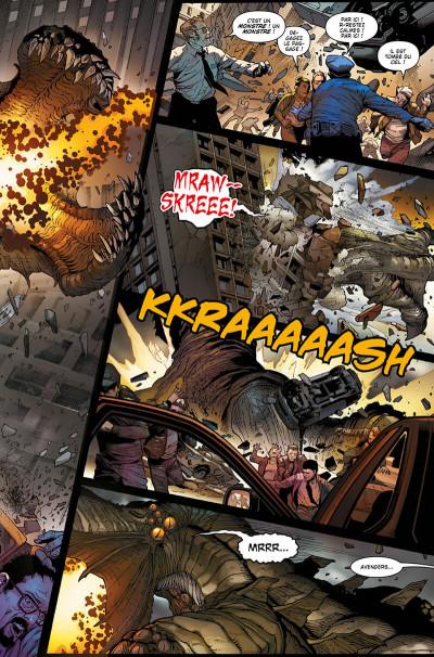 Page 9 Les monstres attaquent - Un défi monstrueux