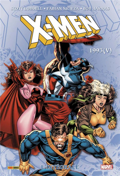 Couverture X-men - intégrale tome 36 - 1993 (V)