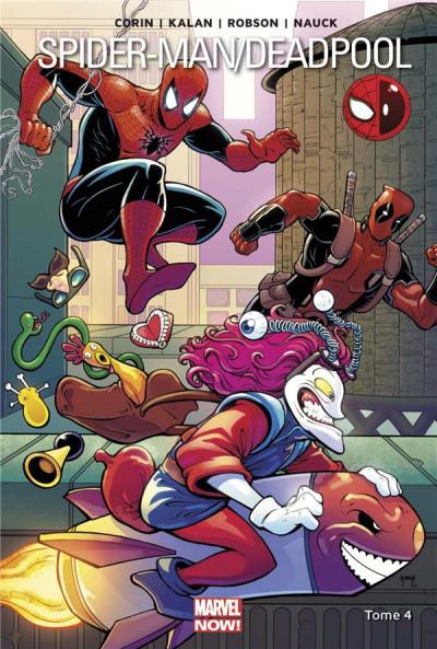 Couverture Spider-man / Deadpool tome 4