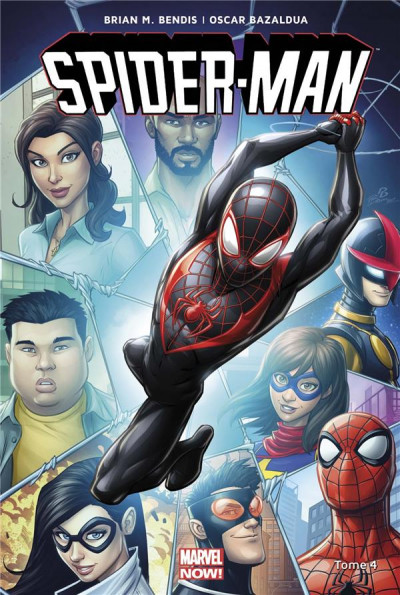 Couverture Spider-man all-new all-different tome 4