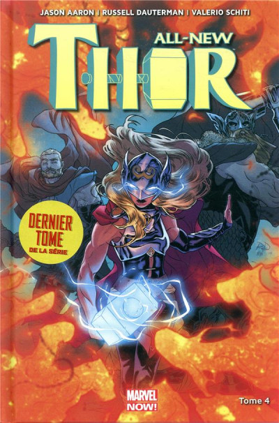 Couverture All-new Thor tome 4