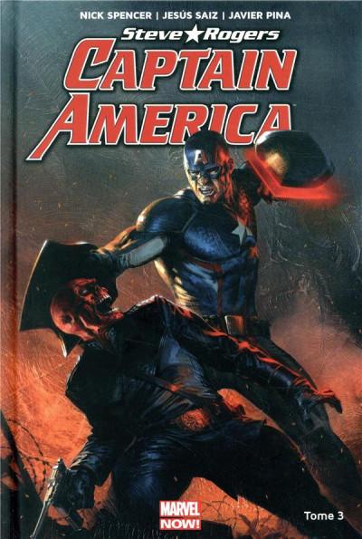 Couverture Captain America - Steve Rogers tome 3