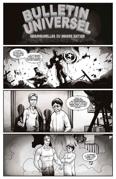 Page 5 Captain America - Steve Rogers tome 3
