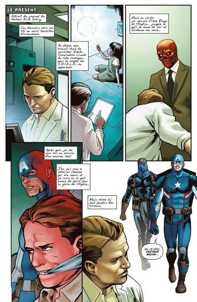 Page 8 Captain America - Steve Rogers tome 3