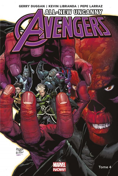 Couverture All-new uncanny avengers tome 4