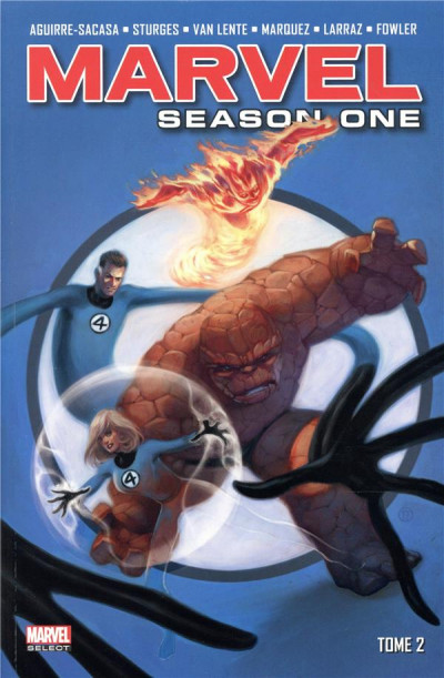 Couverture Marvel - season one tome 2