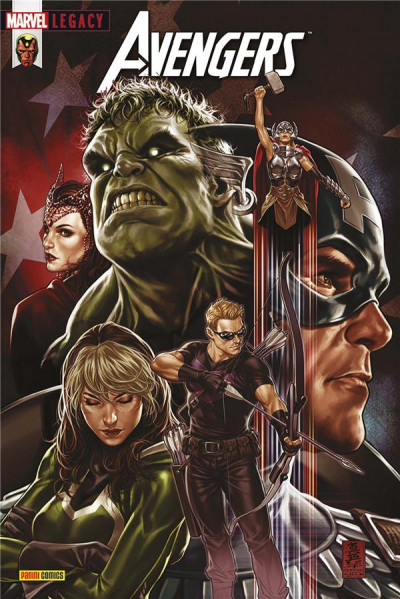 Couverture Marvel legacy - Avengers tome 7