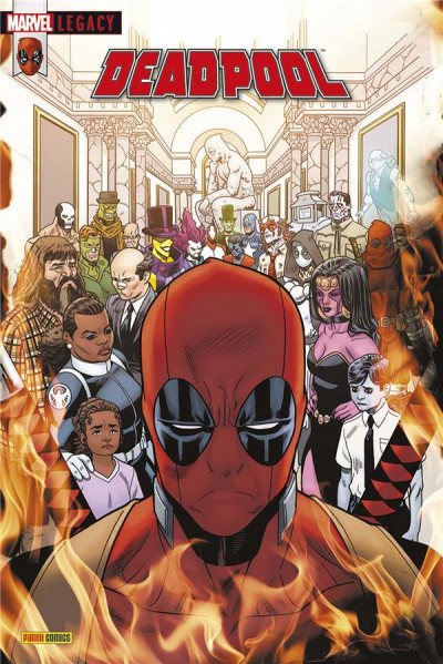 Couverture Marvel legacy - Deadpool tome 7