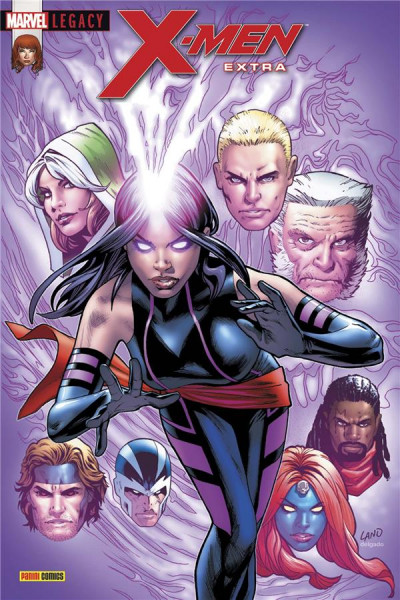 Couverture Marvel legacy - X-men extra tome 4