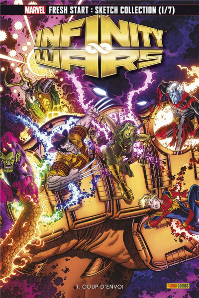 Couverture Infinity wars - fascicule tome 1