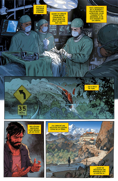 Page 5 Doctor Strange - legacy tome 1