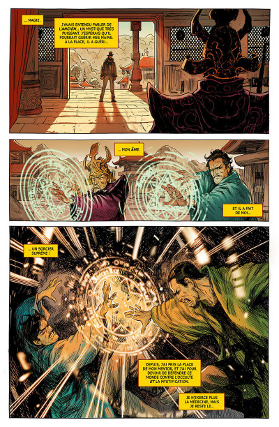 Page 6 Doctor Strange - legacy tome 1