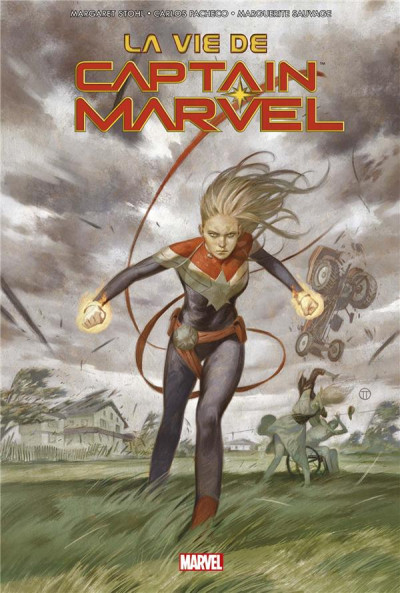 Couverture La vie de Captain Marvel