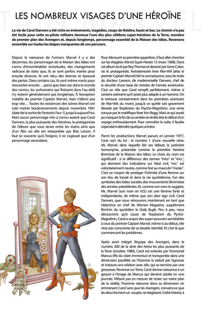 Page 6 La vie de Captain Marvel
