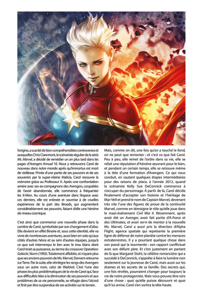 Page 7 La vie de Captain Marvel