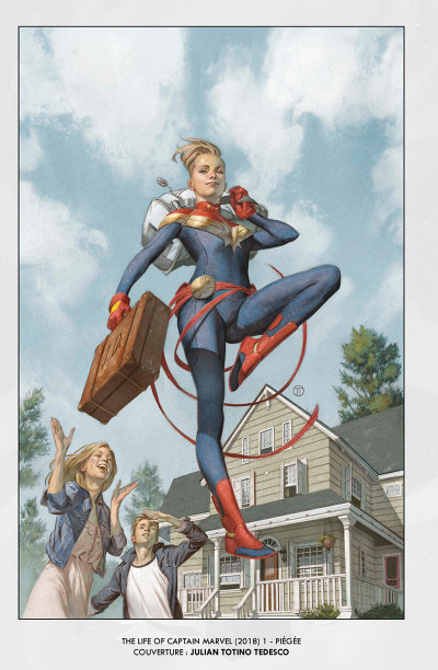 Page 8 La vie de Captain Marvel