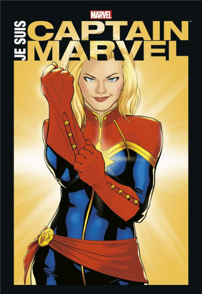 Couverture Je suis Captain Marvel