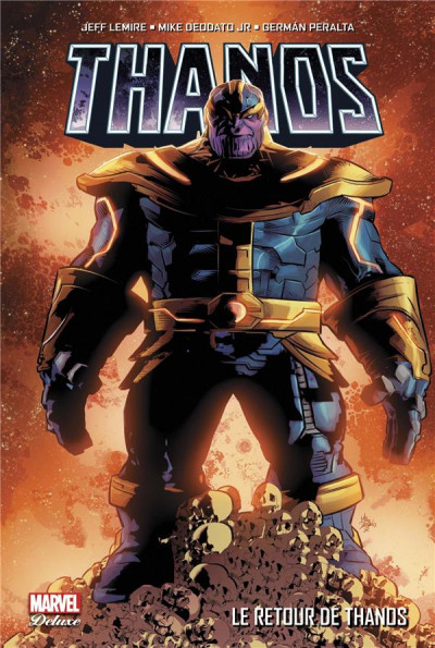 Couverture Thanos tome 1
