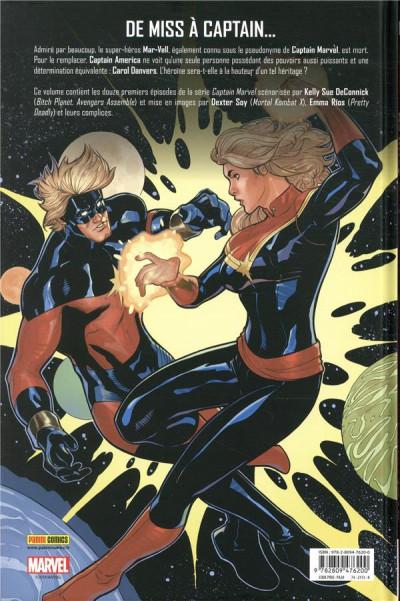 Dos Captain Marvel - Et nous serons des étoiles