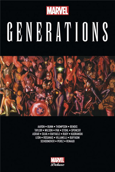 Couverture Marvel generations