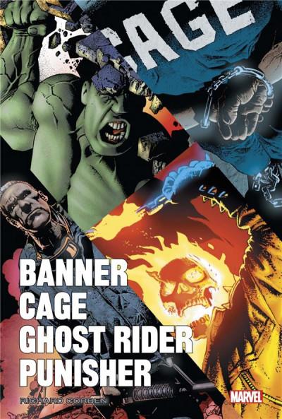 Couverture Banner/Cage/Punisher par Richard Corben