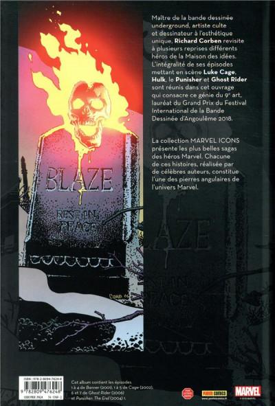 Dos Banner/Cage/Punisher par Richard Corben
