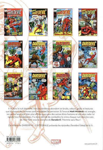 Dos Daredevil - intégrale tome 6