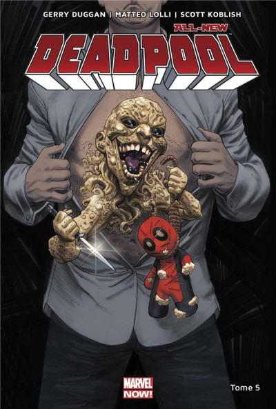 Couverture All-new Deadpool tome 5