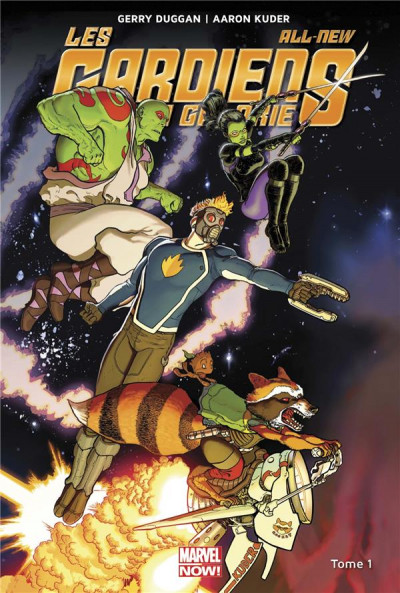 Couverture All-new les gardiens de la galaxie tome 1