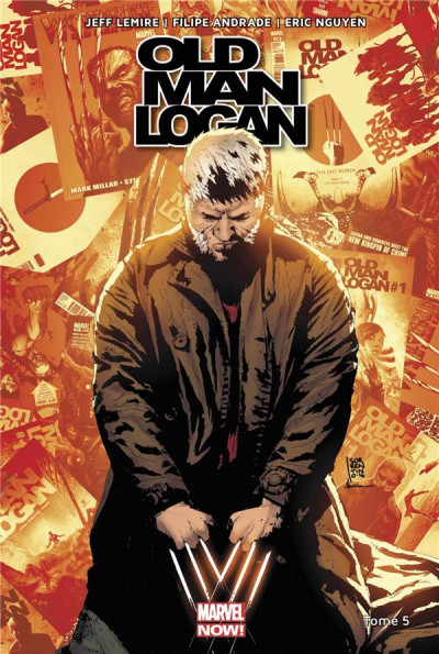 Couverture Old man Logan all-new all-different tome 5