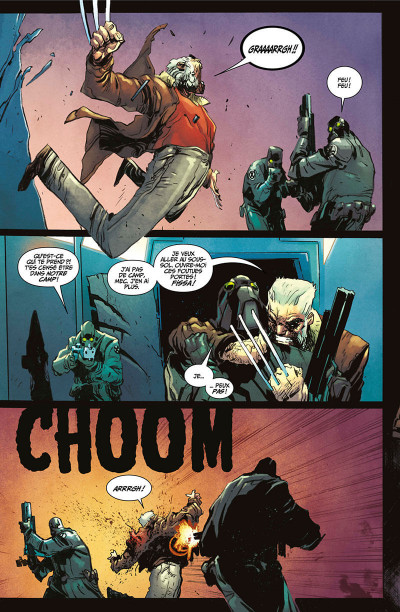 Page 6 Old man Logan all-new all-different tome 5