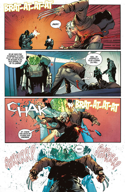 Page 8 Old man Logan all-new all-different tome 5