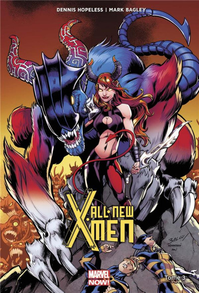 Couverture All-new X-men tome 3