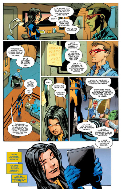 Page 6 All-new X-men tome 3