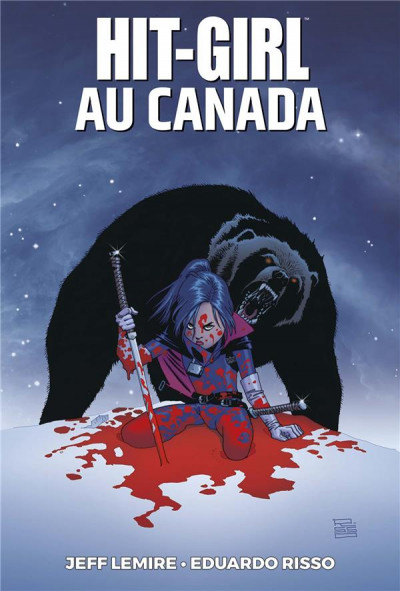 Couverture Hit Girl tome 2 - Hit Girl au Canada