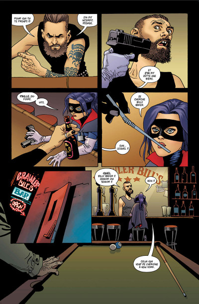 Page 8 Hit Girl tome 2 - Hit Girl au Canada