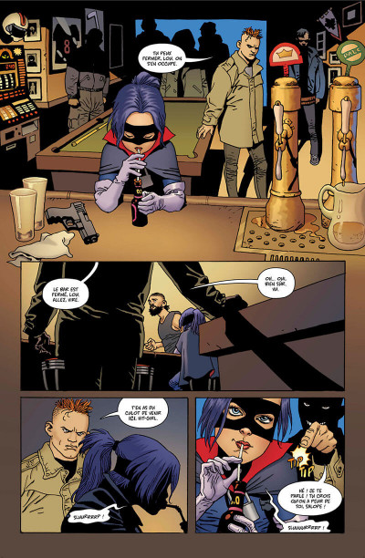 Page 9 Hit Girl tome 2 - Hit Girl au Canada