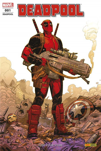 Couverture Deadpool (fresh start) tome 1