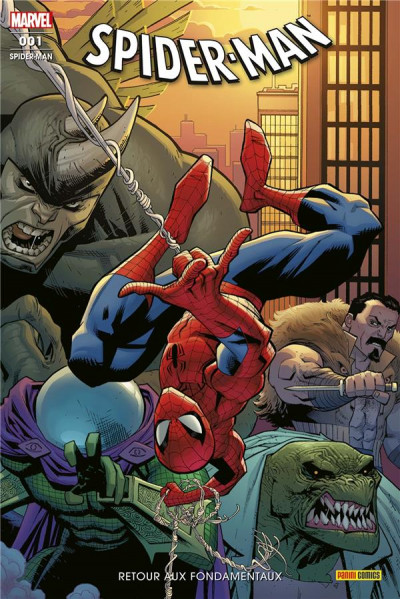 Couverture Spider-man (fresh start) tome 1